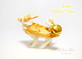 Icarus, Goldwing Dragon2 by rosepeonie