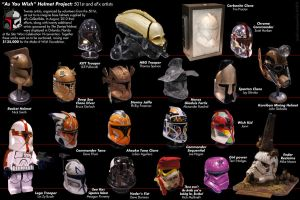 As You Wish Helmet Project 501st Artists by TheCloneEmperor
