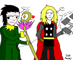Loki is not amused by SweBJ