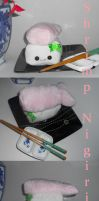 Shrimp Nigiri Plushie by Love-Who