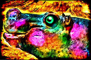 Digital Painting: Hippo to See You by UkuleleMoon