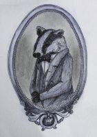 Mr Badger by delusional-dreams
