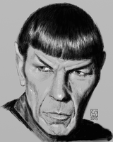 Spock - DSC by The-Tinidril