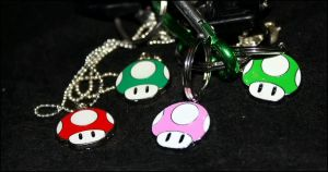 My Mario shrooms. by MoiraHermione