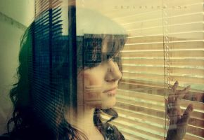 The world going by my window by onechristina