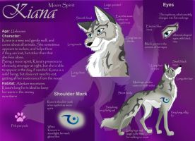 Kiana character sheet by Deathscent