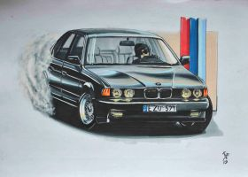BMW e32 by two6