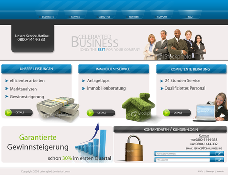 Business page by celerayted