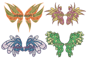 Wings adopts 4 CLOSED by vicifashion