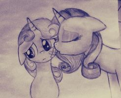 Sister's love by NicoleTheBluePony