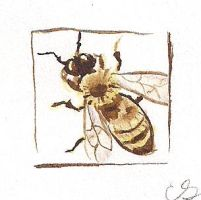 Tiny Art Bee by Sabre-Art