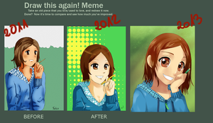 Draw This Again 2011-2013 by oPoof