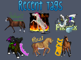 Recent Tags by Falloway