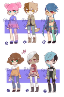 [OPEN #4]  COLLAB ADOPTS by pokoliaa