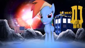 DJ Who Legacy Rainbow Dash by TheProdigy100