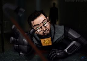HL: I Suggest You Choose Wisely, Gordon Freeman. by AmberRockets