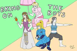 Smash Sisters by glsnifit
