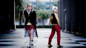 Soul Eater - Maka and Soul -1 by evalime