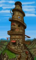 The Tower by JOVictory