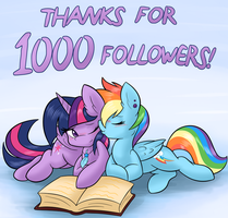 TwiDashLove 1000 Followers by Ambris