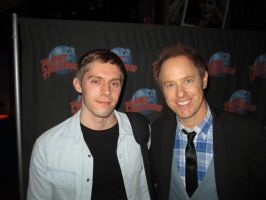 Meeting Raphael Sbarge (Kaidan Alenko voice actor) by AndrewRyanArt
