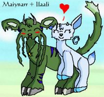 Maiynarr and Ilaali by Sepseriis