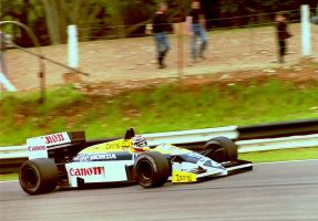 Nelson Piquet (Great Britian Tyre Test 1986) by F1-history