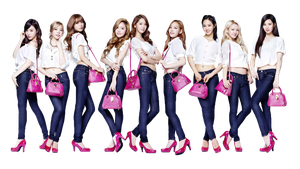 SNSD (PNG) [RENDER] by pikudesign