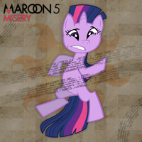 Maroon 5 - Misery (Twilight Sparkle) by AdrianImpalaMata
