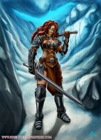 Hot Nord Woman by SteelBolt