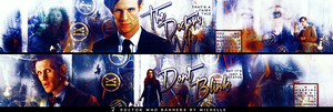 Doctor who banners by Miss-Chili