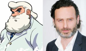 Andrew Lincoln as Dr. Light (The Protomen) by attaturk5