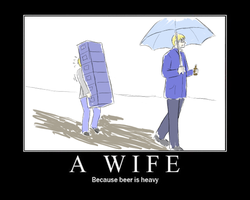 A Wife by saiyuki-fangirl13