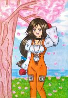 A Princess under the cherryblossom by dagga19 by dagga19