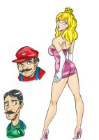 Mario Twins Color by Kimbawest