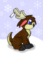 Update: Christmas Reindeer by Milo03