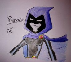 Teen Titans Raven by F-Stormer-3000
