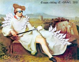 Goethe is Lady Gaga by JadineR