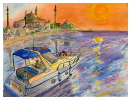 Leaving Istanbul by themaninthehatart