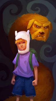 Adventure Time by RyoTazi