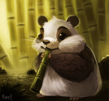 DAY 60. Panda? (35 Minutes) by Cryptid-Creations