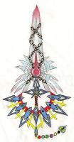 The Forbidden Keyblade Version 1 by Leon259