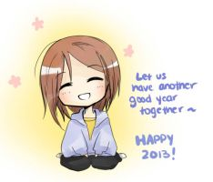 Happy 2013 by MokonaTenshi