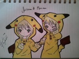 Pika girls by wave4585