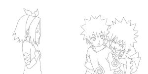naruto lineart2 by scarface8882