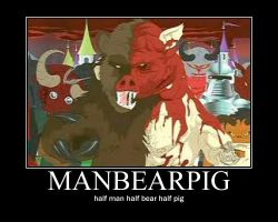 manbeapig by Grahammainwood