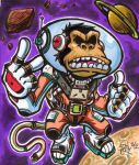 Space Monkey by Djiguito
