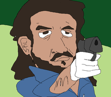 Oceanic Six Sayid from Lost by holdypause