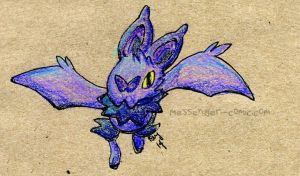 Little Noibat by bugbyte