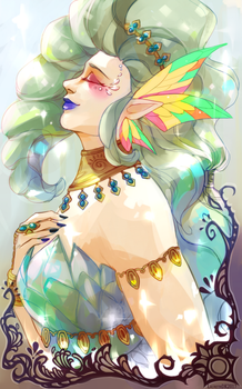 [Contest] Great Fairy Tera by Laureth-dk